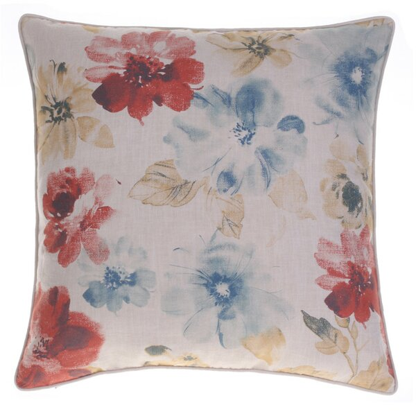 Flora Throw Pillow by 14 Karat Home Inc.