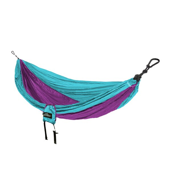 Travel Double Nylon Camping Hammock by Castaway Ha