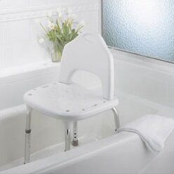 Adjustable Shower Chair by Home Care by Moen