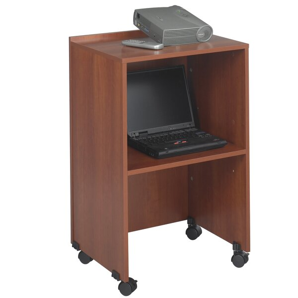 Media Lectern AV Cart by Safco Products Company