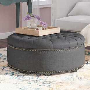 Find the perfect Poyner Cocktail Ottoman ByLark Manor