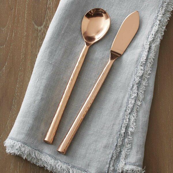 Albritton 2 Piece Spreader & Sugar Spoon Set by Mercury Row