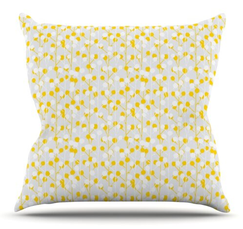 Lemon Drop by Julie Hamilton Outdoor Throw Pillow by East Urban Home