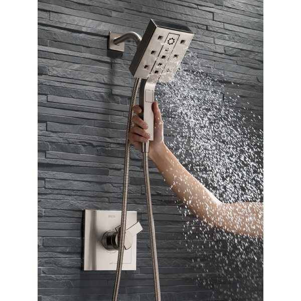 Multi-Function Handheld Shower Head with H2okinetic Technology by Delta Delta