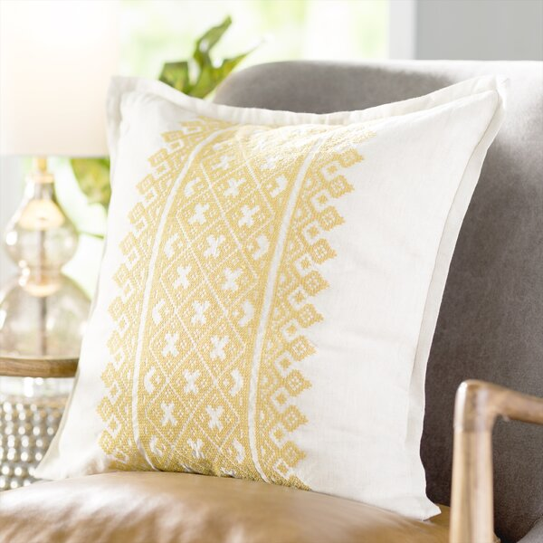Linen Throw Pillow by Birch Lane™