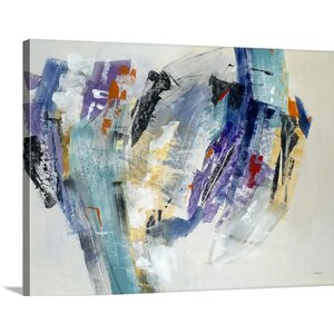 'Transport' by Jill Martin Painting Print on Wrapped Canvas by Great Big Canvas