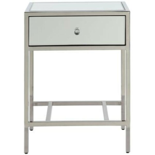 Grena End Table With Storage By Rosdorf Park