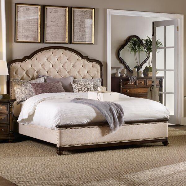 Leesburg Upholstered Panel Bed by Hooker Furniture