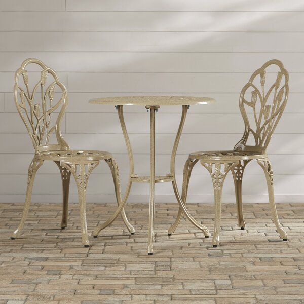 Wilkins 3 Piece Bistro Set By August Grove