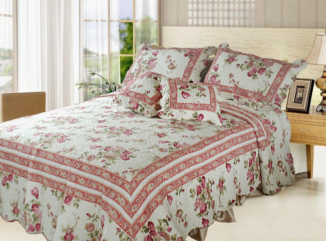 DaDa Bedding French Country Quilt Set & Reviews | Wayfair : country quilt set - Adamdwight.com