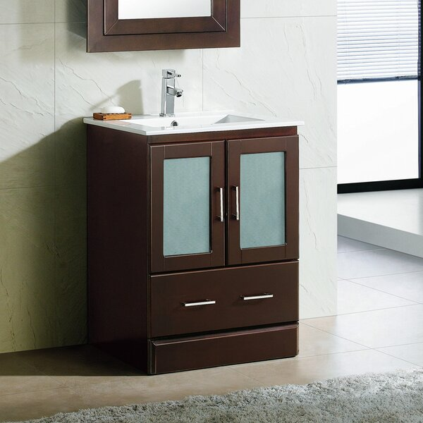 Rethman Contemporary 24 Single Bathroom Vanity Set by Latitude Run