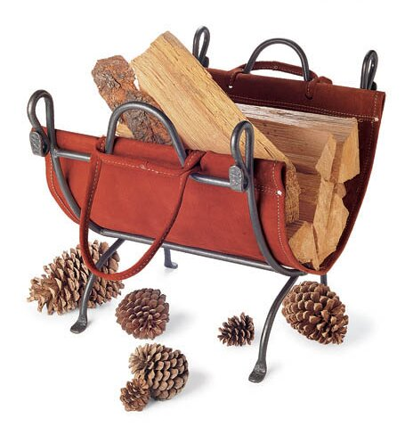 Folding Log Carrier by Pilgrim Hearth