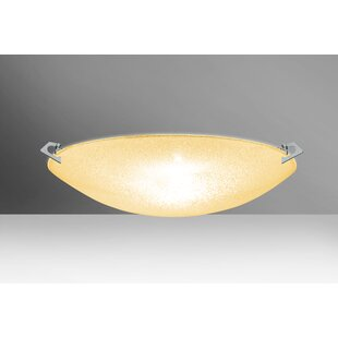 Compare & Buy Sonya 3-Light Outdoor Flush Mount By Besa Lighting