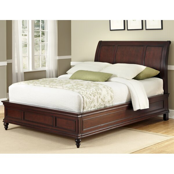 Rossie Sleigh Bed by Astoria Grand