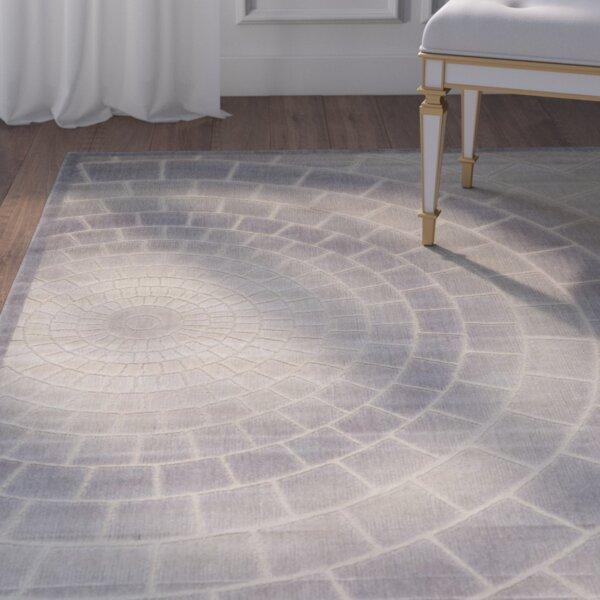 Cadmium Light Gray Area Rug by House of Hampton
