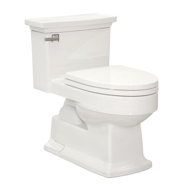 Lloyd Eco 1.28 GPF Elongated One-Piece Toilet by Toto