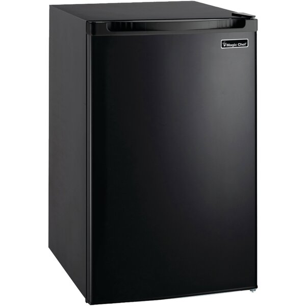 4.4 cu. ft. Compact Refrigerator with Freezer by Magic Chef