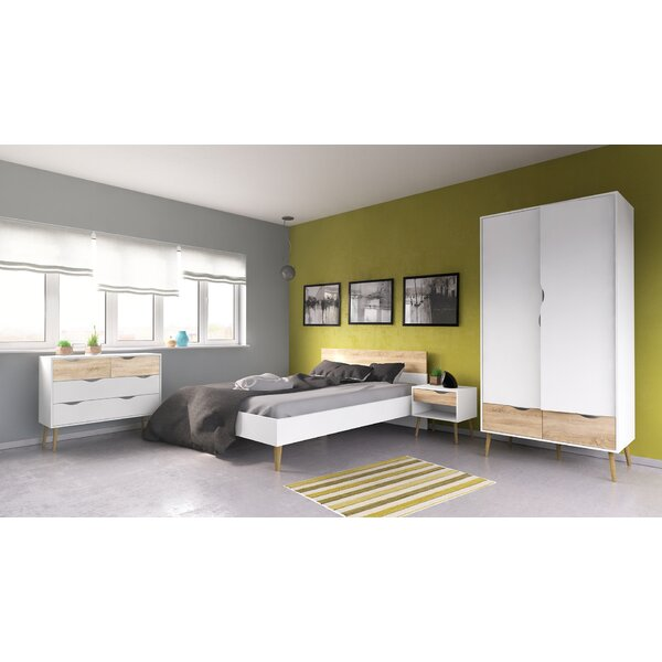 Mateer Queen Panel Configurable Bedroom Set by Langley Street