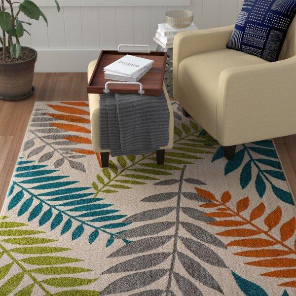 Encarnacion Blue/Green/Orange Indoor/Outdoor Area Rug by Winston Porter