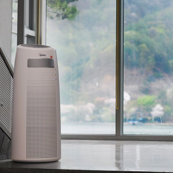 Air Purifier with HEPA Filter and JBL Speaker by Winix