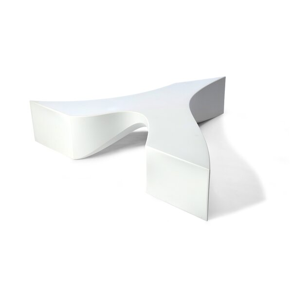 Riptide Wishbone Plastic Bench by TONIK