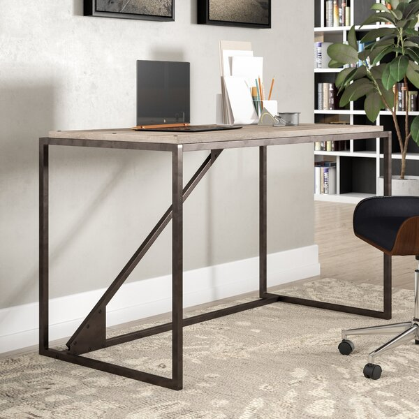 Rosemarie Industrial Writing Desk by Greyleigh