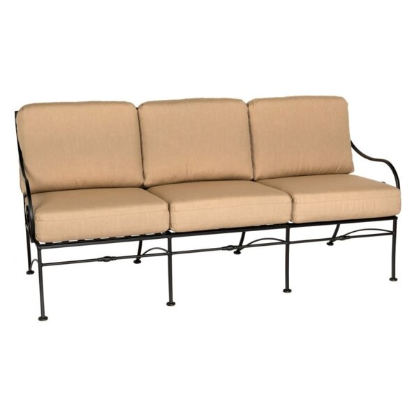 Sheffield Patio Sofa With Cushions By Woodard by Woodard Great Reviews