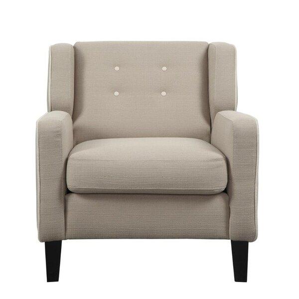 Leech Tufted Back Armchair by Alcott Hill
