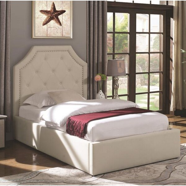Wentzel Upholstered Storage Platform Bed by Darby Home Co