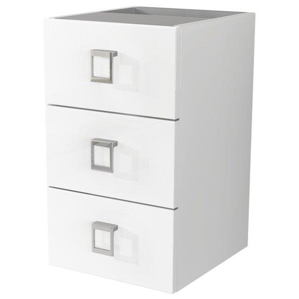 Herwarth 3 Drawer Accent Cabinet