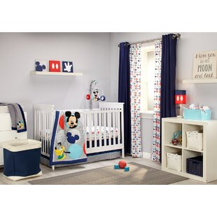 Exceptionnel Mickey Best Buddies 4 Piece Crib Bedding Set