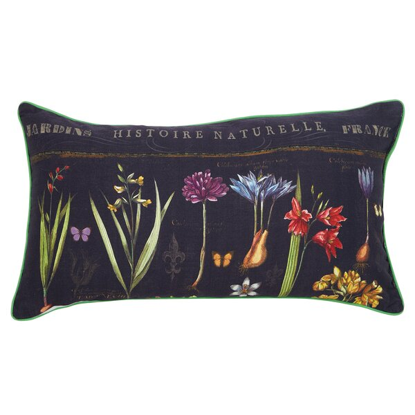 Historie Naturelle Lumbar Pillow by Cape Craftsmen