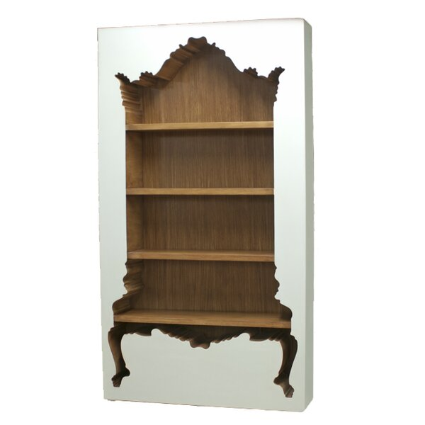 Mullins Standard Bookcase by Rosdorf Park