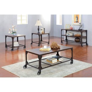 Hobart 3 Piece Coffee Table Set Trent Austin Design