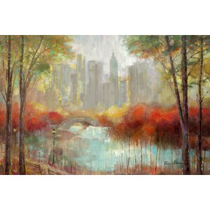 'City View' Painting Print on Canvas by East Urban Home