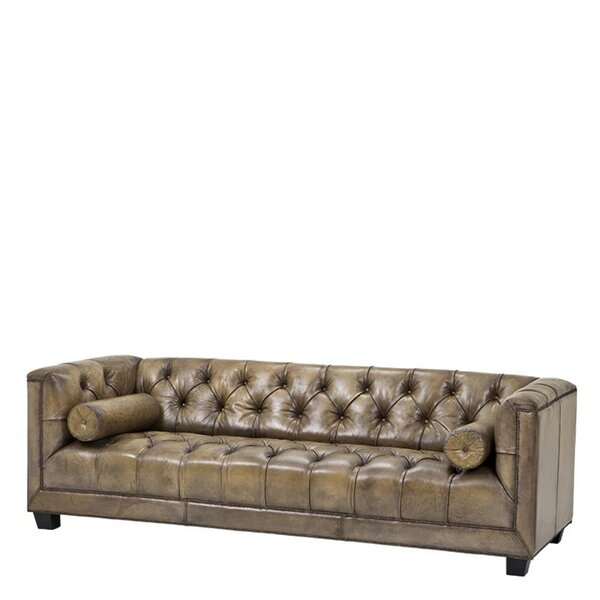 Paolo Leather Sofa by Eichholtz