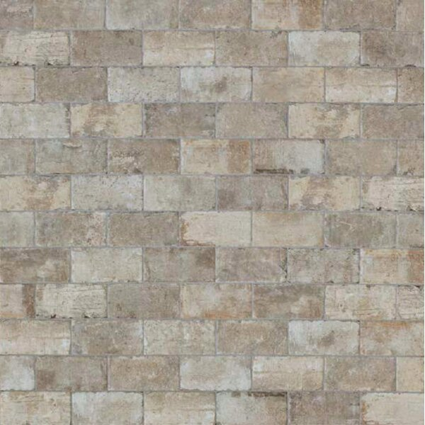 Chicago Brick 4 x 8 Porcelain Mosaic Tile in South Side by Tesoro
