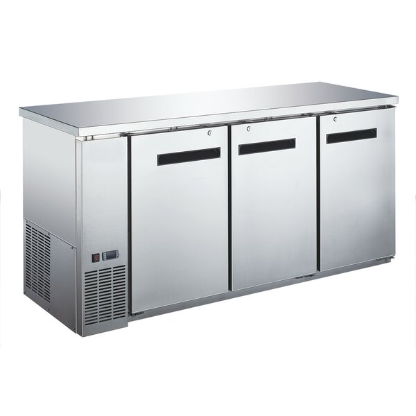 Commercial Underbar 19.6 cu. ft. Energy Star Counter Depth All-Refrigerator by EQ Kitchen Line