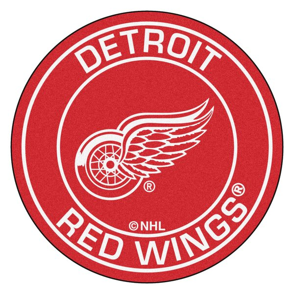 NHL Detroit Red Wings Roundel Mat by FANMATS