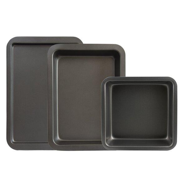 3 Piece Non-Stick Bakeware Set by Range Kleen