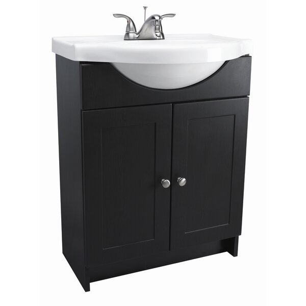 Steubenville Euro 24 Single Bathroom Vanity Set by Andover Mills