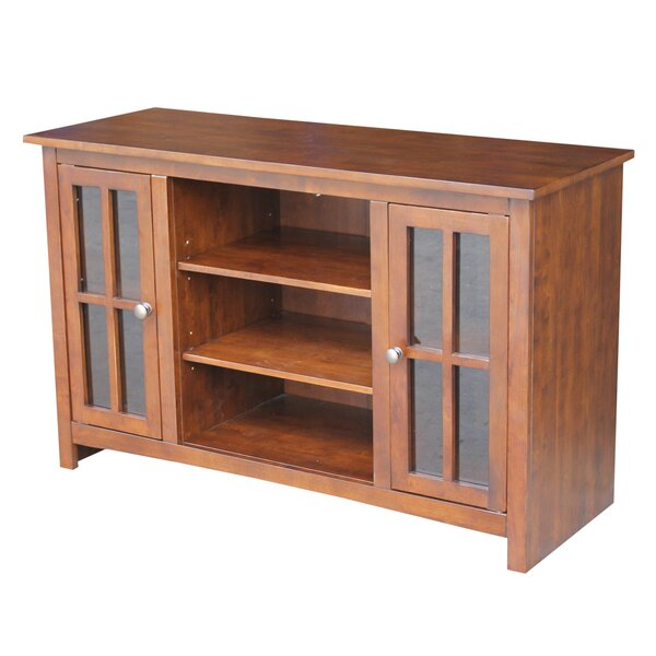 Anniston Solid Wood TV Stand For TVs Up To 55