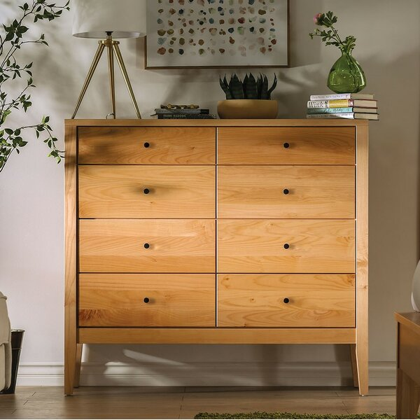 Bustos 8 Drawer Chest by Foundry Select