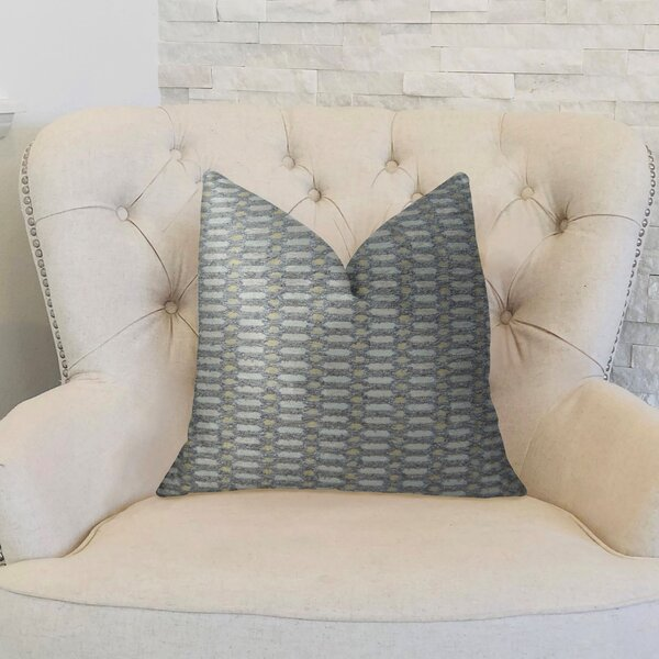 Cicle Joiners Handmade Throw Pillow by Plutus Brands