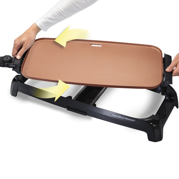 Reversible Durathon Electric Griddle By Hamilton Beach.