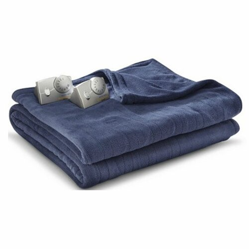 Microplush Electric Heated Blanket by Bell + Howell