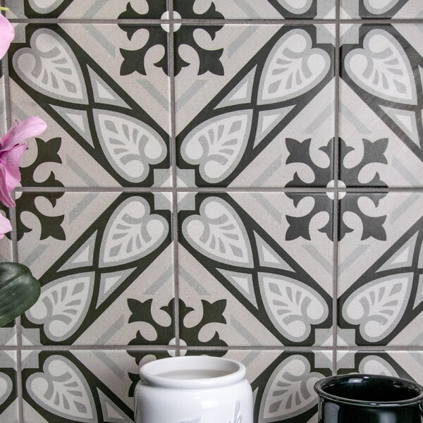 Heather 6 x 6 Porcelain Field Tile