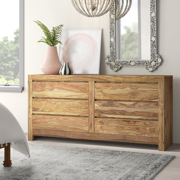 Allegro 6 Drawer Double Dresser By Mistana by Mistana Today Sale Only