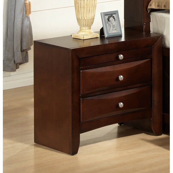 Derik Storage 2 Drawer Nightstand by Red Barrel Studio
