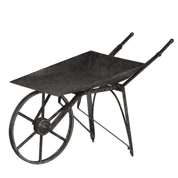 Vintage Wheelbarrow Planter by A&B Home
